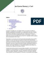 Concepto Del Yo, De Carlo Roger y Karen Horney, Yo Ral vs Ideal