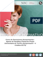Tecnico Operaciones Aeroportuarias Agente Handling Online