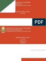 CLASES DE ANALISIS ESTRUCTURAL