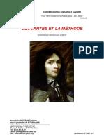 Duboust - Descartes et la méthode