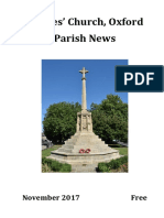 St Giles, Oxford November 2017 Parish News