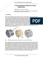 Modeling of a Cast Aluminium Wheel for Crash Application - [Y. Léost, A. Sonntag, T. Haase]
