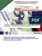 Lecture 11 - El Control de La Gestion en La Empresa.
