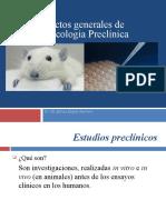 Aspectos generales de Farmacología Preclínica