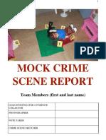 361333211 Mock Crime Scene Report 2017