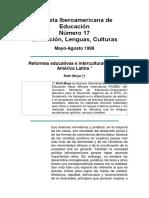Revista Iberoamericana de Educacióncantuta 2015