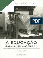 MÉSZÁROS, István. A Educação Para Além do Capital.pdf
