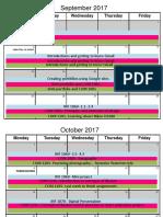 semester plans 2017