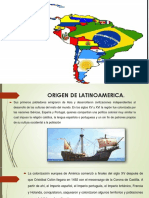 Origen de Latinoamerica Ser y Cosmos