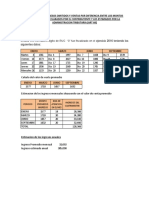 Presuncion de Ingresos Omitidos y Ventas Por Diferencia Entre Los Montos Registrados o Declarados Por El Contribuyente y Los Estimados Por La Administracion Tributaria