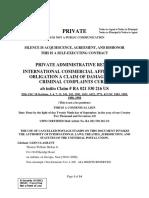 Affidavit of Rescission. Social Security Docx
