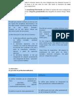 La Morphologie Lexicale Étudie La Structure Interne Des Mots