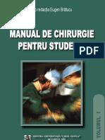 Manual de Chirurgie Pentru Studenti V1