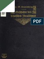 Geschichte Des Deutschen Idealismus 1