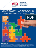 Desarrollo y evaluación de competencias para la vida USAID