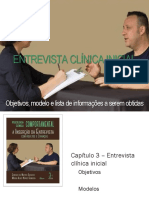 Entrevista Clinica Inicial Psicologia