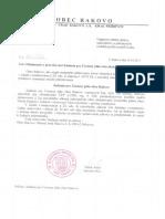 Oznámenie o prerokovaní Zadanie pre Územný plán obce Rakovo