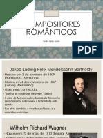 Compositores Românticos