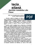 Carte Deschisa Pentru Romanii Din Timoc
