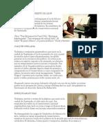 Artistas Pintores y Musicos Guatemaltecos