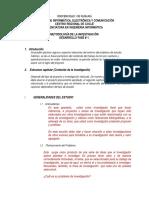 Desarrollo Fase 1 Metodología de La Inv
