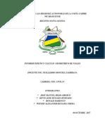 Informe El Coral