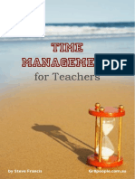 Time Management for Teachers PREVIEW Pages