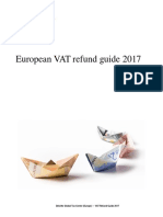European VAT refund guide 2017