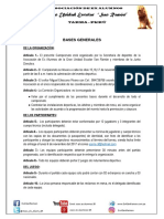 Bases Generales Mayores