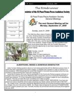 June-July 2009 Roadrunner Newsletter El Paso Trans Pecos Audubon Society