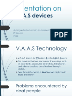 Presentation on VAAS Devices-1