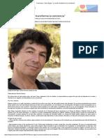 """0-Pressenza - Dario Ergas_ """"La Acción Transforma La Conciencia"""""""