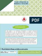 Gestión de Riesgos y Planes Operativos en Emergencia Diapositivaaaaaas
