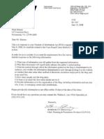 FOIA response