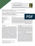 Li2012 Identification of Floral Fragrances in Tree Peony Cultivars