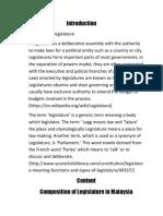 Pad240 Legislature