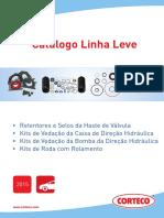 CORTECO - Catalogo Retentores Linha Leve 2015