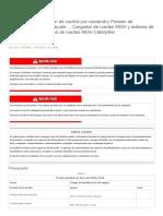 Válvula piloto (Dirección de control de comando) Presión de suministro - Probar y ajustar ...pdf