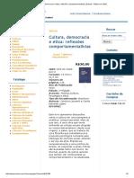 Cultura, Democracia e Ética_ Reflexões Comportamentalistas _ Eduem - Editora Da UEM