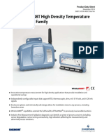 Product Data Sheet Rosemount 848t High Density Temperature Measurement Family Data