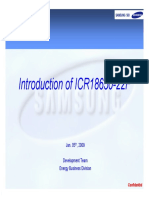 ICR18650 22F Samsung