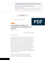 "Colombia_ Modelo de ""Cobertura Universal en Salud"" – Indepaz"