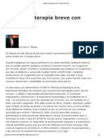 Modelo de Terapia Breve Con PNL