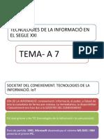 Tecnologies de La Informació en El Segle Xxi
