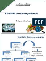 Aula 7 Controle de Microrganismos