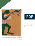 PÉREZ DIAZ. P. La Nueva Cancion Chilena y La Cantata Popular