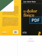 Nasio Juan David -El Dolor Físico