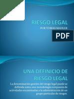 Riesgo Legal