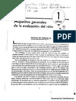 Aspectos Generales de La Evaluación Del Niño (Esquivel)