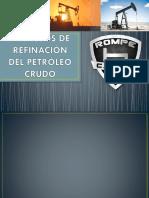 DIAPOS REFINACION DEL PETROLEO